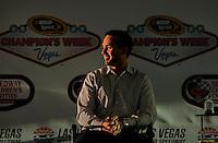 12/02/09: NASCAR Sprint Cup Series Champion Jimmie Johnson  during Day 1 of the NASCAR Sprint Cup Series Champions Week on December 2, 2009 in Las Vegas, Nevada.