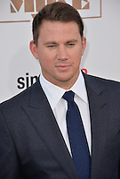 Channing Tatum at the world premiere of his movie &quot;Magic Mike XXL&quot; at the TCL Chinese Theatre, Hollywood.<br /> June 25, 2015  Los Angeles, CA<br /> Picture: Paul Smith / Featureflash