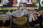 BIRMINGHAM, AL - MARCH 11: Queens University placed first during the Division II Men's and Women's Swimming & Diving Championship held at the Birmingham CrossPlex on March 11, 2017 in Birmingham, Alabama. (Photo by Matt Marriott/NCAA Photos via Getty Images)