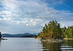 British Columbia, Canand: Susan Islets in Lancelot Inlet of Desolation sound