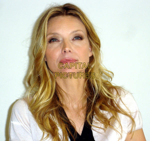 "MICHELLE PFEIFFER.Photocall for ""Hairspray"", The Four Seasons, California, USA..June 15th, 2007.headshot portrait.CAP/AW.©Anita Weber/Capital Pictures"
