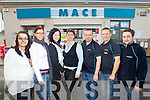 Staff of Kelliher's Mace Rathass, Tralee from left: Megan Moriarty, Kristi Sepp, Carly Stack, Dagmar Kolesarova, Patrick Godfrey,  Rafal Marzec and Liam Hickey.