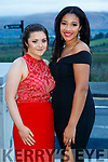 Ciara Murphy and Jessica Cotter, Mercy Mounthawk Secondary School, Tralee,  pictured at the TY Ball, at Ballyroe Heights Hotel, Tralee, on Saturday night last.