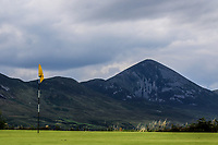 A view of Croagh Patrick during the Preview of the AIG Cups & Shields Connacht Finals 2019 in Wesport Golf Club, Westport, Co. Mayo on Thursday 8th August 2019.<br /> <br /> Picture:  Thos Caffrey / www.golffile.ie<br /> <br /> All photos usage must carry mandatory copyright credit (© Golffile | Thos Caffrey)