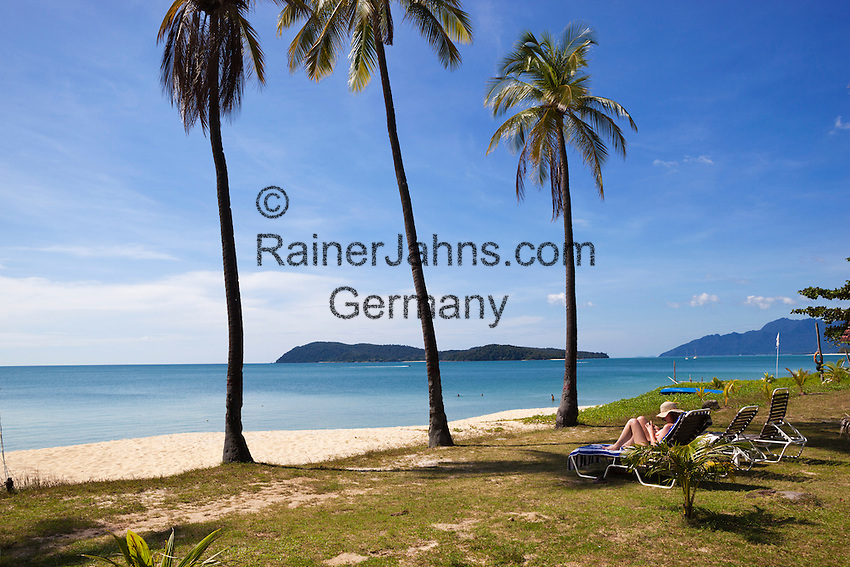 Malaysia, Pulau Langkawi, Pantai Tengah beach: Beach at the Frangipani Langkawi Resort and Spa | Malaysia, Pulau Langkawi, Pantai Tengah beach: Strand beim Frangipani Langkawi Resort and Spa
