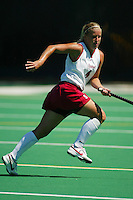 30 August 2005: Liz Robinson during Stanford's 5-1 loss to Delaware at the Varsity Turf Field in Stanford, CA.