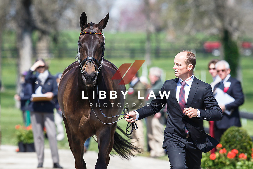 GER-Michael Jung (FISCHERROCANA FST) THE JOG: 2015 USA-Rolex Kentucky Three Day Event CCI4* (Wednesday 22 April) CREDIT: Libby Law COPYRIGHT: LIBBY LAW PHOTOGRAPHY