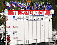 27 SEP 12  The 39th Ryder Cup at The Medinah Country Club in Medinah, Illinois.