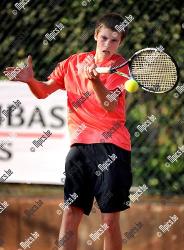 2011-09-01 / Tennis / seizoen 2011 / Feest van de jeugd / Xander Veys..Foto: mpics