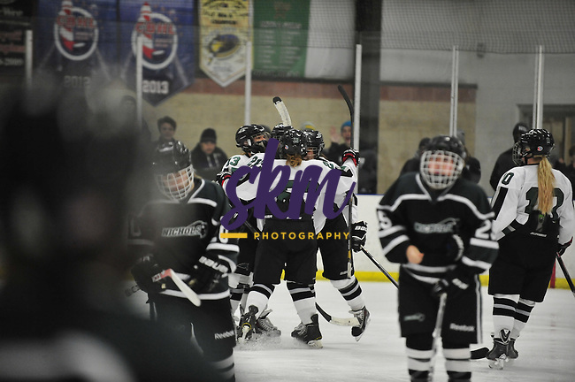 The SU Women's Ice Hockey team defeated Nichols 7-2 Friday evening at Reisterstown Sportsplex.