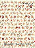 Kate, GIFT WRAPS, GESCHENKPAPIER, PAPEL DE REGALO, Christmas Santa, Snowman, Weihnachtsmänner, Schneemänner, Papá Noel, muñecos de nieve, paintings+++++Rudolf's gang on cream repeat,GBKM412,#gp#,#x#