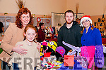 Seanchai Craft Fair: Attending the annual Christmas Craft fair at the Seanchai Centre, Listowel on Sunday last were Fiona & Rachel Neylon, Conrad Ryan & Kelly Saintjohn.