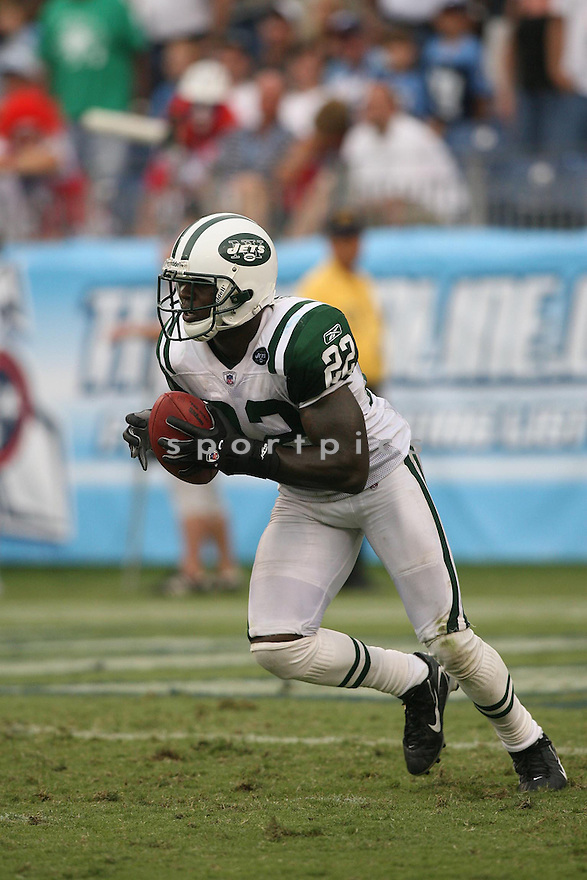 JUSTIN MILLER, of the New York Jets, in action against the Tennessee Titans on September 10, 2006 in Nashville, Tennessee....Jets win 23-16..Kevin Tanaka /SportPics