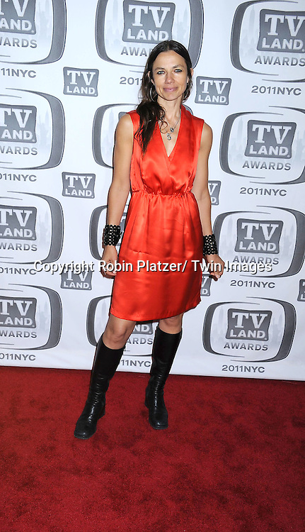 Justine Bateman attending The TV Land Awards 2011 .on April 10, 2011 at the Jacob Javits Center in New York City.