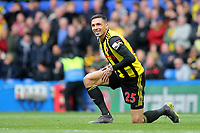 Jose Holebas of Watford during Chelsea vs Watford, Premier League Football at Stamford Bridge on 5th May 2019