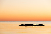 A Serene Winter Solstice from King's Beach on the Ocean Drive, Newport, RI