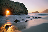Arch at Pfeiffer Beach<br />