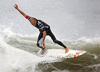 Kelly Slater. 2009 ASP WQS 6 Star US Open of Surfing in Huntington Beach, California on July 24, 2009. ..