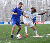 FIFA International beim Home of FIFA 09.01.2017 Legends Game 2017 FIFA stellvertretender Generalsekretaer Zvonimir Boban (li, Kroatien) gegen Carles Puyol (Spanien)