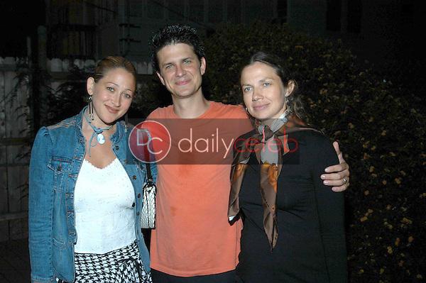 Jennifer Blanc,  John Lehr and  Justine Bateman