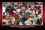 Fan shots from the Cougars Pac-12 Conference home victory over the Cal Bears, 56-21, on November 12, 2016, at Martin Stadium in Pullman, Washington.