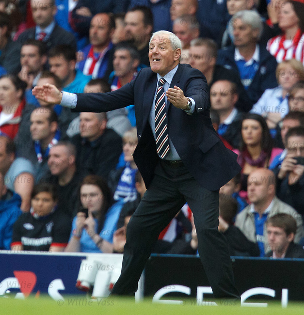Walter Smith shows he has lost none of his passion for the game