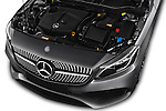 Car Stock 2016 Mercedes Benz A-Class Fascination 5 Door Hatchback Engine  high angle detail view