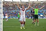 Bastian Schweinsteiger (GER), JULY 4, 2014 - Football / Soccer : Bastian Schweinsteiger of Germany celebrates after winning the FIFA World Cup Brazil 2014 quarter-finals match between France 0-1 Germany at Estadio do Maracana in Rio de Janeiro, Brazil. (Photo by FAR EAST PRESS/AFLO)