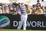 Rory McIlroy tees off on the 1st tee to start his round during  Day 3 at the Dubai World Championship Golf in Jumeirah, Earth Course, Golf Estates, Dubai  UAE, 21st November 2009 (Photo by Eoin Clarke/GOLFFILE)