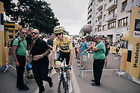 Chris Froome (GBR/SKY) at the start<br /> <br /> 104th Tour de France 2017<br /> Stage 7 - Troyes &rsaquo; Nuits-Saint-Georges (214km)
