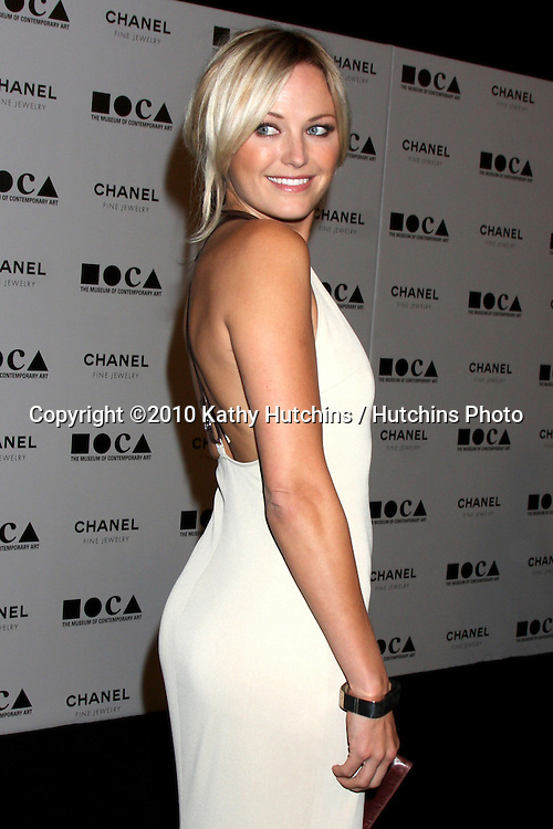 """LOS ANGELES - NOV 13:  Malin Akerman arrives at the MOCA's Annual Gala """"The Artist's Museum Happening"""" 2010 at Museum of Contemporary Art on November 13, 2010 in Los Angeles, CA"""