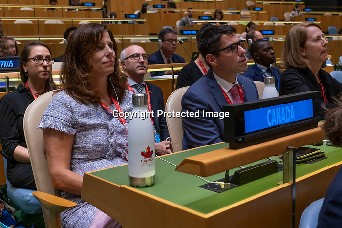 General Assembly: 16th meeting<br /> <br /> <br /> His Excellency Marc-Andre BLANCHARD Chair of Delegation of Canada
