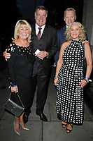 Lynne Allardyce, Sam Allardyce, David Moyes and Pamela Moyes at the Legends of Football 23rd annual football awards gala 2018, Grosvenor House Hotel, Park Lane, London, England, UK, on Monday 08 October 2018.<br /> CAP/CAN<br /> ©CAN/Capital Pictures