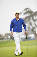 26th January 2020, Torrey Pines, La Jolla, San Diego, CA USA; Hideki Matsuyama during the final round of the Farmers Insurance Open at Torrey Pines Golf Club