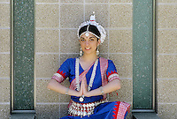 East Indian Orissi dancer