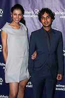 "BEVERLY HILLS, CA, USA - MARCH 26: Neha Kapur, Kunal Nayyar at the 22nd ""A Night At Sardi's"" To Benefit The Alzheimer's Association held at the Beverly Hilton Hotel on March 26, 2014 in Beverly Hills, California, United States. (Photo by Xavier Collin/Celebrity Monitor)"