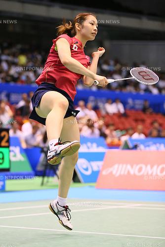 Misaki Matsutomo (JPN), June 13, 2014 - Badminton : Yonex Open Japan 2014 Mixed Doubles at Tokyo Metropolitan Gymnasium, Tokyo, Japan. (Photo by Yohei Osada/AFLO SPORT) [1156]