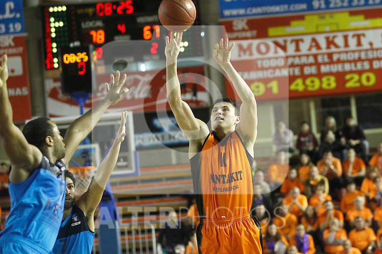Montakit Fuenlabrada's Francisco Cruz during Eurocup, Regular Season, Round 6 match. November 16, 2016. (ALTERPHOTOS/Acero)