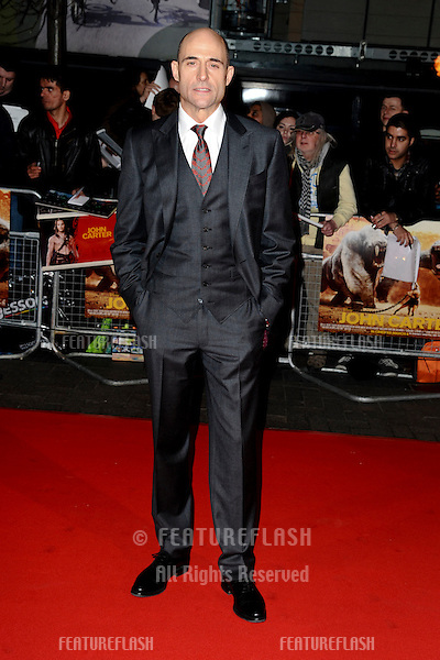 "Mark Strong at the ""John Carter"" premiere at the BFI South Bank, London. 02/03/2012 Picture by: Steve Vas / Featureflash"