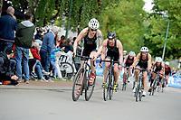 20180501 - DOORNIK , BELGIUM : Triathlete Charlotte Deldaele Team EFC-ITC  pictured during The Belgian Championship Team Triathlon Man and Women , a Team Triathlon in Doornik , Tuesday 1 st May 2018 , PHOTO SPORTPIX.BE | STIJN AUDOOREN