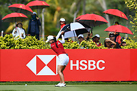SINGAPORE - MARCH 03: Minjee Lee of Australia on the 3rd tee during the final round of the HSBC Women's World Championship 2019 at Sentosa Golf Club - Tanjong Course, Singapore on March 03, 2019.<br /> .<br /> .<br /> .<br /> (Photo by: Naratip Golf Srisupab/SEALs Sports Images)<br /> .<br /> Any image use must include a mandatory credit line adjacent to the content which should read: Naratip Golf Srisupab/SEALs Sports Images