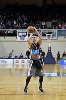 Jarrod Kenny in action during the NBL Final Four - Hawks v Sharks at TSB Bank Arena, Wellington, New Zealand on Friday 4 July 2014. <br /> Photo by Masanori Udagawa. <br /> www.photowellington.photoshelter.com.