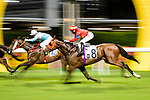 #8 Jockey Eddy Lai Wai-ming riding Starlit Knight during the Hong Kong Racing at Happy Valley Race Course on June 13, 2018 in Hong Kong, Hong Kong. Photo by Marcio Rodrigo Machado / Power Sport Images