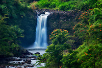 Uma Uma Falls. Hawaii Island. The Big Island