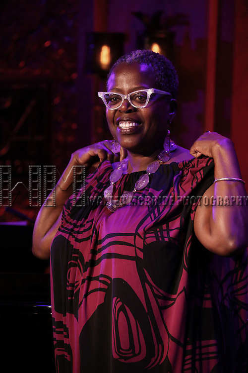 Lilias White previews her show 'Lilias White-The Birthday Show' at 54 Below on July 10, 2014 in New York City.