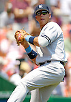 18 June 2006: Alex Rodriguez, third baseman for the New York Yankees, warms up prior to a game against the Washington Nationals at RFK Stadium, in Washington, DC. The Nationals defeated the Yankees 3-2 in the third game of the interleague series...Mandatory Photo Credit: Ed Wolfstein Photo...