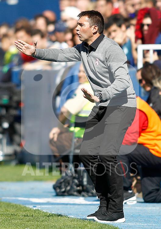 CD Leganes' coach Asier Garitano during La Liga match. October 15,2016. (ALTERPHOTOS/Acero)
