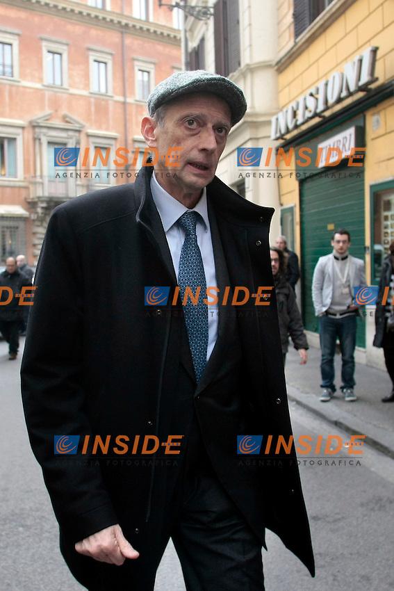 Piero Fassino<br /> Roma 16-01-2014 Sede del Partito Democratico. Direzione Nazionale del Partito Demcratico, PD.<br /> Photo Samantha Zucchi Insidefoto