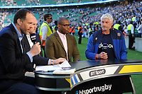 Bath Director of Rugby Todd Blackadder looks on from the BT Sport studio. The Clash, Aviva Premiership match, between Bath Rugby and Leicester Tigers on April 8, 2017 at Twickenham Stadium in London, England. Photo by: Rob Munro / Onside Images