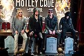 Jan 28, 2014: MOTLEY CRUE - P[ress Conference - Roosevelt Hotel Hollywood CA USA